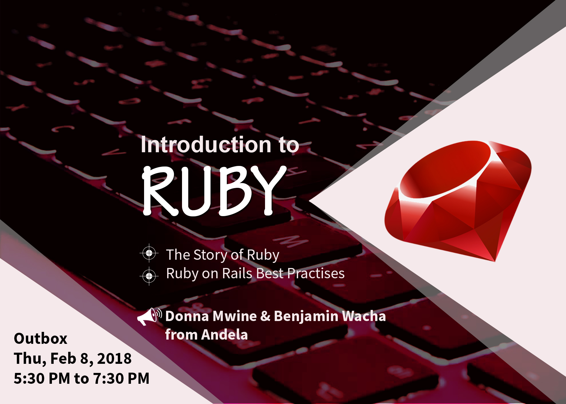 An Introduction to Ruby - The Story & Best Practices for