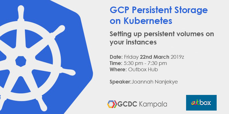 GCP Persistent Storage on Kubernetes, Outbox Hub