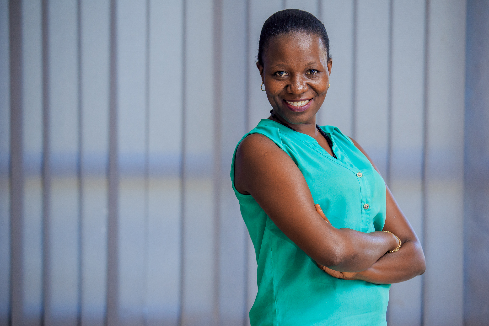 Scovia Nnamiggo, Outbox EDU Alumni and only female in cohort II