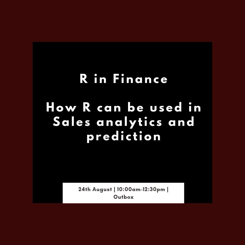 R in Finance at Outbox
