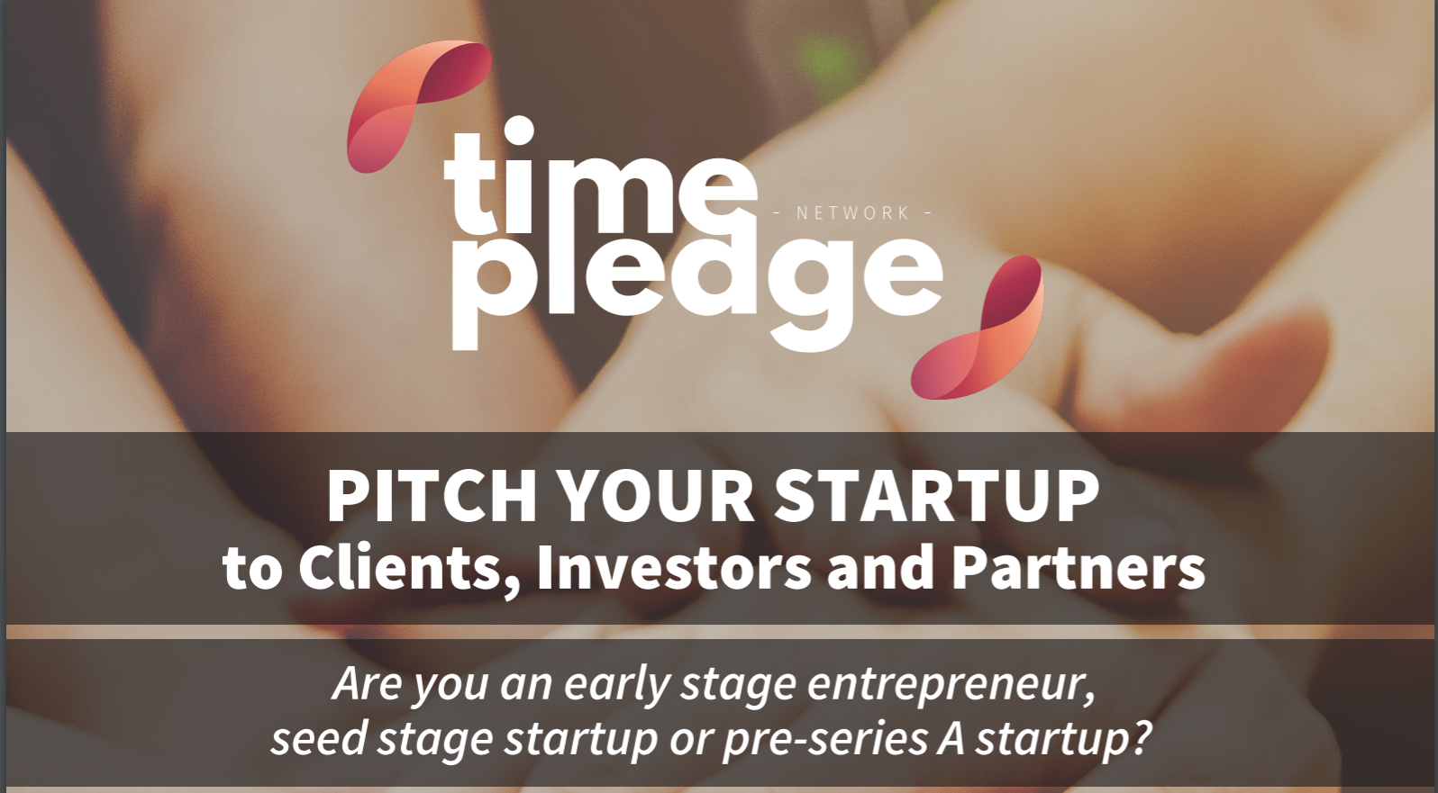 Time Pledge: Pitch your Startup