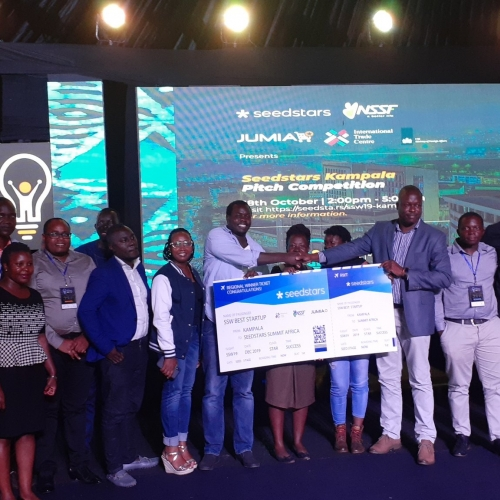 Teheca wins Seedstars Kampala 2019